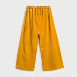Pantaloni culotte catifea