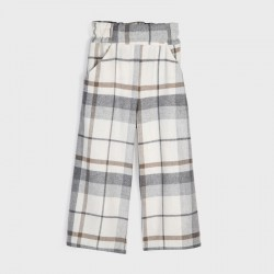 Pantaloni culotte carouri